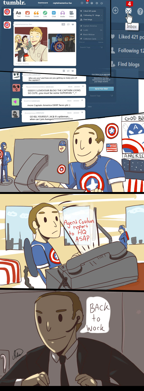Coulson's Tumblr by ~irsaona