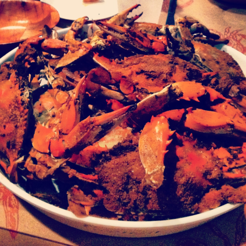 Crabs at Al's Seafood - baltimore