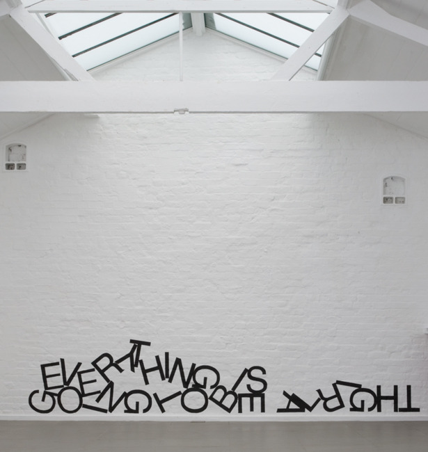 "visual-poetry:  ""untitled (wall painting)"" by ben cove"