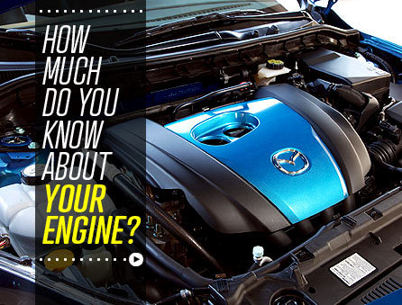 Quiz time!  Just what the heck do those new engine tech names like EcoBoost and SkyActiv mean, anyway? See how much you know.