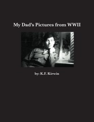 adialogue:  My Dad's Pictures From WWII Authored by K.F. Kirwin This book is just pictures taken at the end of WWII 1945-1947, by my Dad. They have never been published before. He used the gun film he could get from airplanes. The Pima Air Museum in Tucson, Arizona helped identify some of the pictures in this book. The rolls of film were poorly stored with rubber bands that had melted and paperclips that had rusted. There are many pictures with double exposures which give them an interesting effect. I hope you enjoy seeing life through the eyes of an airman; stationed far from home. These are my Dads ghosts. ~ K.F. Kirwin  It's not often we are able to see through the eyes of those long gone but thanks to Kitty's brilliant book, we can.  Imagine what it must have been like to be in such a surreal situation, during a terrible and fascinating time in history, through the eyes of one man with a determination to record it.  For anyone interested in history, this book is a treasure.  It would make a great gift for Father's Day or a grandparent, and it's a bargain at $25, click on the link for more information.  ~adialogue  Thank you!