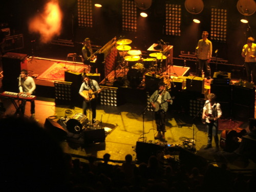 Mumford & Sons perform at St David's Hall in Cardiff on 30th May 2012 Photo courtesy of Cerys Williams.