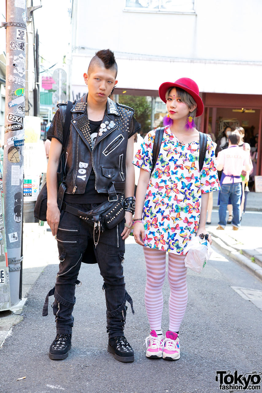 Yui & Ricky, one of Harajuku's most awesome couples!
