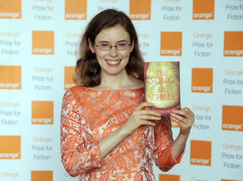 amandaonwriting:  American teacher, Madeline Miller receives the Orange Prize for Fiction for her debut novel The Song of Achilles 30 May 2012. Source: HuffPostUK