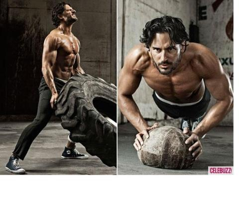 "A Return to Man in Hollywood. Joe Manganiello gets upfront and physical in the June issue of Men's Health which hits newsstands next week. Looking strapping and superhuman is no new feat for the True Blood star, but he reveals that it is his ""silent, tough guy"" demeanor that appeals to people. Read Joe's startling  'Magic Mike' confession to find out how he and his hunky costars did some manhandling of their own in the strip-teasing summer movie directed by Steven Soderbergh. Here's a sneak peak of the spread courtesy of Celebuzz!"