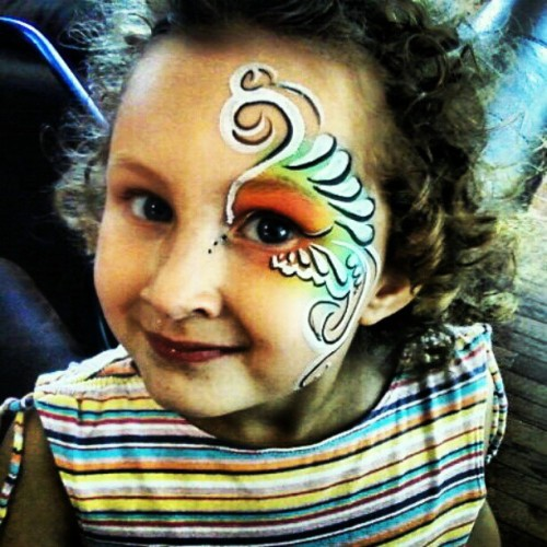 Eye art for my favorite munchkin. Taken with instagram