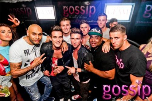 SPOTTED: GEORDIE SHORE'S GAZ popped into check out the GOSSIP at Glam last night with a surprise visit! Did you spot anything else to GOSSIP about…? ;)  You know you love me xoxo