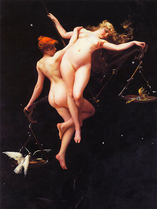 Luis Ricardo Falero, The Balance of the Zodiac