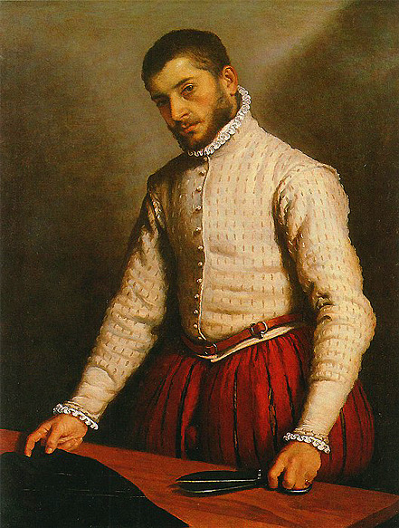 bluebaroque:  Giovanni Battista Moroni - The Tailor (1570–1575)