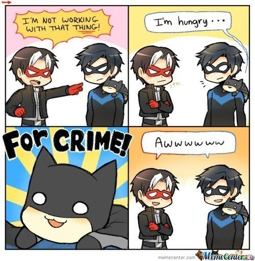I seriously ship nightwing/redhood. Where is the fandom? I need fic pls…
