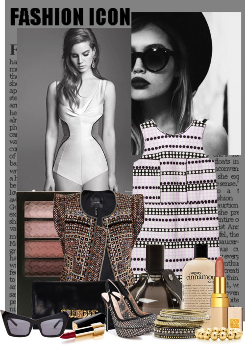 Senza titolo #511 by valentinaporta7 featuring revlon makeupMarni zipper dress, $765Isabel marant jacket, $2,887Valentino suede pumps, $1,030Marc by Marc Jacobs leather clutch handbag, €301Tiffany Co 18k jewelry, $600Mixit stacking bangle, $7.20Alexander Wang black cat eye sunglasses, $355Revlon makeup, $6.99Comme des Garcons fragrance, $150Philosophy body cleanser, $11