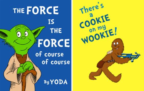 amyvernon:  If Dr. Seuss created Star Wars. by Jason Peltz via @ThinkGeek