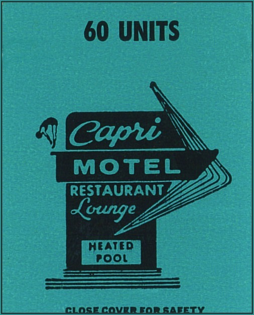 Mid Century Matchbook Cover