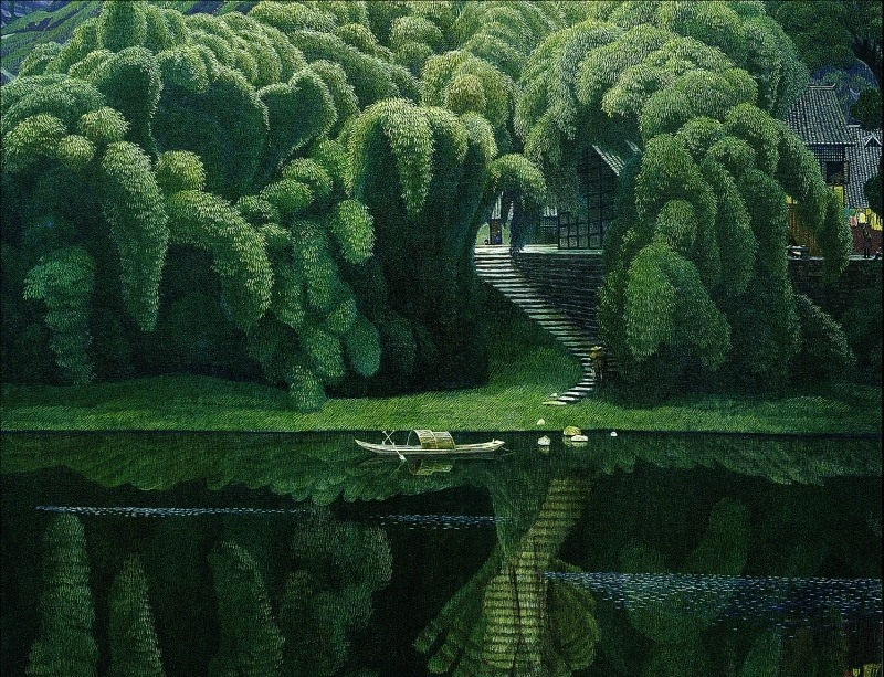 artchipel:  Jian Chongmin | 简崇民 (b.1947, China) [more Jian Chong Min | artist found at theartofanimation]