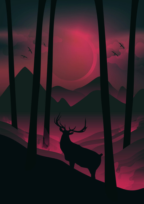 brain-food:  Eclipseby Martynas Pavilonis | Buy Print