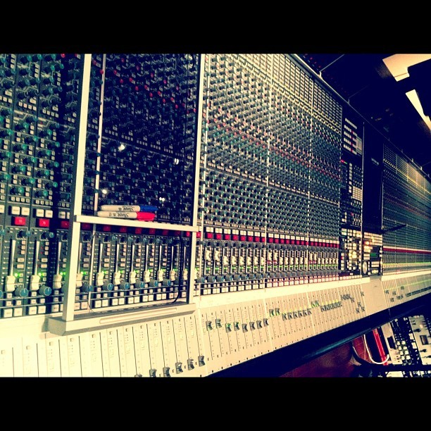 That's a lot… Recording strings w @magikmagik (Taken with Instagram at Studio Trilogy)