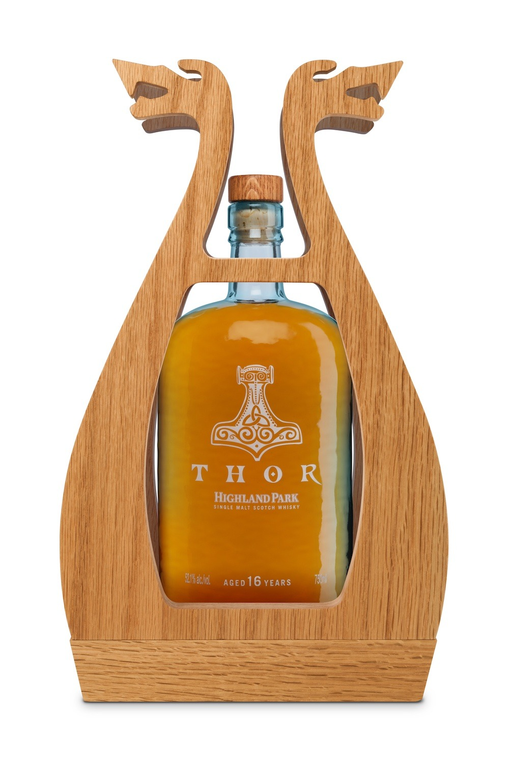 christielouwho:  THOR single-malt whiskey by Highland Park Valhalla Collection. 16-year single-malt whiskey for $199.   Highland Park Thor 16 Year Old Single Malt Scotch Whisky (52.1% 104.2 proof, $199) is golden amber in color with a slightly sweet and fruity nose. Peach, vanilla, and berry intermingle with a soft malt note. There's the slightest hint of peat underneath but the overall character is light, sweet, and soft. Thor's entry is a burst (or Thor Hammer if you'd like to stick with the theme) of flavor. The sweet vanilla and peach from the nose are there but they are strongly backed by ginger, cinnamon, and oak spice. Rather than build, Thor evens out in the midpalate, giving you a chance to dig through all the layers of flavor. It's a little bit of an inversion to many of its peers that start off softer and build. In addition to ginger, peach, cinnamon, and oak, the berry note from the nose makes a return along with sweet malt, honey, and the slightest hint of smoky peat. The finish on Thor is long and slightly dry with a nice combination of honeyed vanilla, ginger, and oak spice. The finish is a little drier than most but it's a result of the high proof.  I like this…