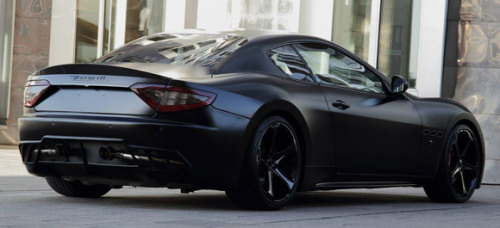 Anderson Germany Maserati GranTurismo S Superior Black Edition.