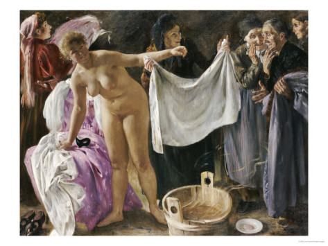 (via The Witches, 1897 Giclee Print by Lovis Corinth at AllPosters.com)