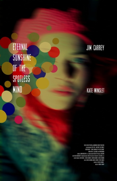 fuckyeahmovieposters:  Eternal Sunshine of the Spotless Mind by Adam Juresko