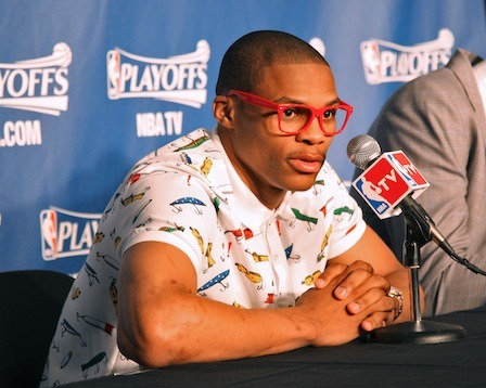 Russell Westbrook brings geek chic to the NBA; fellow players weigh in.