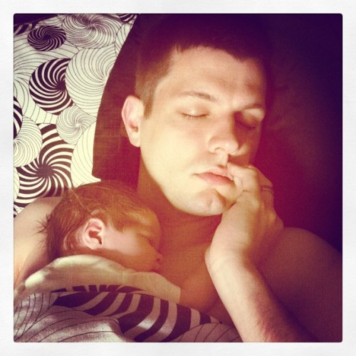 Oh my heart ❤ #harper #husband #love (Taken with instagram)