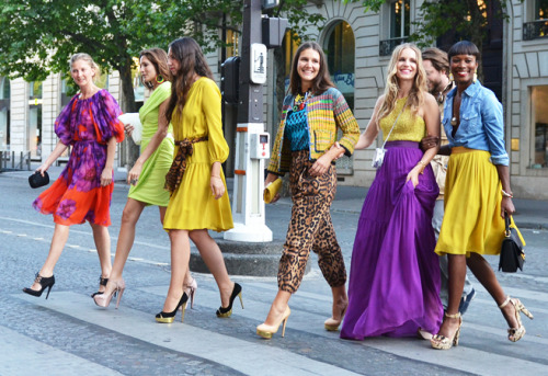 Will you be sporting bright colours this spring?