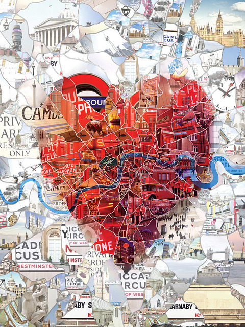 4everdesign:  London: The Capital of Romance by tsevis on Flickr.