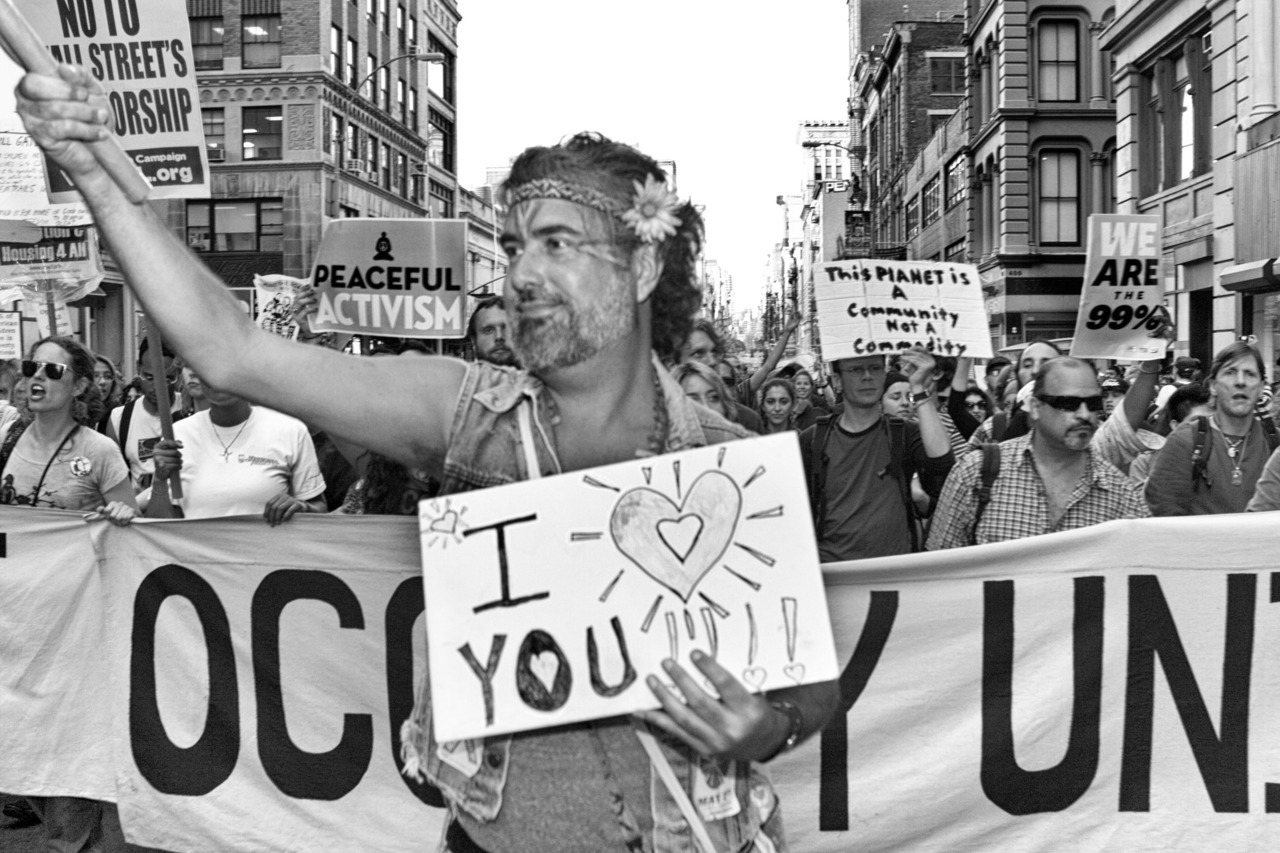 From the OWS series , 2012
