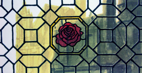 - Window design from Disney's Beauty and the Beast concept art.