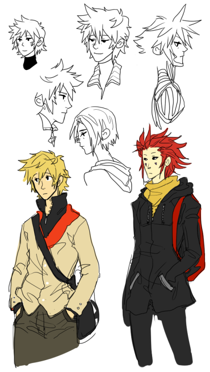 blah-is-a-rainbow:  Kingdom Hearts doodles