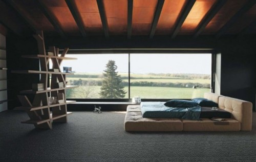 linxspiration:  (via 20 Minimal Bedrooms)