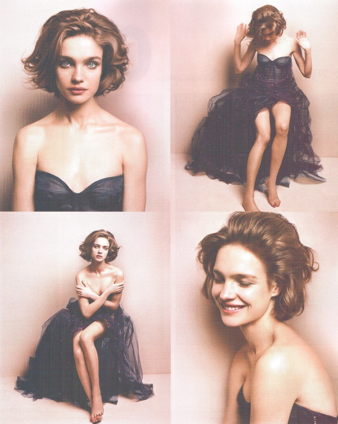 vogueweekend:  Natalia Vodianova photographed by Vincent Peters in Numéro Tokyo April 2008