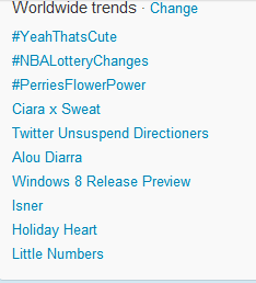 thepurringhobbit:  OH MY GOD LITTLE NUMBERS  IS TRENDING WORLDWIDE