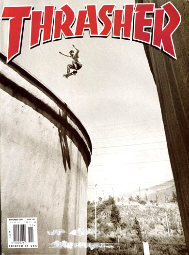 Old thrasher cover sick as fuck