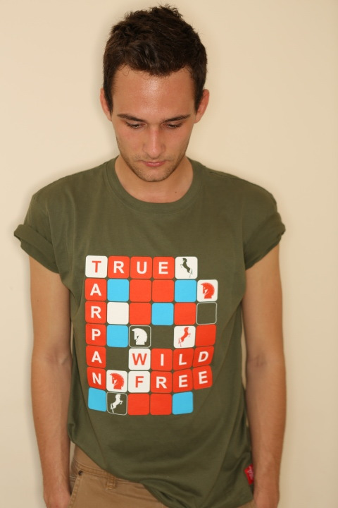 True Tarpan Fitted Tee Shirt Order at www.truetarpan.com Be True Wild 'N' Free Photography: PJK Photography www.pjkphotography.com