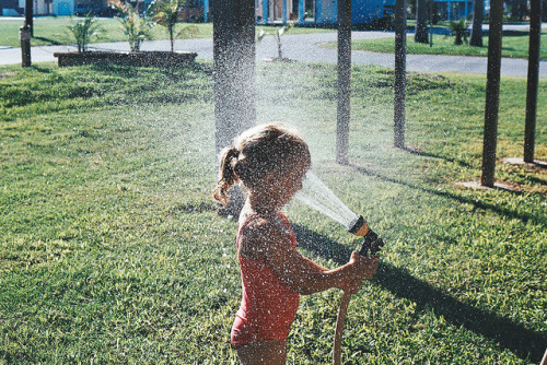 countingclocks:  spraying. by anηie on Flickr.