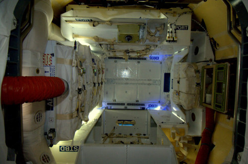 "ISS astronaut, upon seeing the inside of the SpaceX Dragon capsule says ""it looks like sci-fi"" André Kuipers, a Dutch physician and astronaut with the European Space Agency, was on board the ISS when the SpaceX Dragon vehicle berthed. He took this photograph, and wrote, Inside of the Dragon module. Beautiful. Spacious, Modern. Blue LEDs. Feels a bit like a sci-fi filmset. Of course it is from Los Angeles.  He wrote more about the historic space milestone here, on his blog. Last Friday was a special day on my mission. Don and I docked the SpaceX's cargoship Dragon to the Space Station. Dragon brings new equipment for the crew. On the 31st of May it will return to Earth with supplies from the others and myself. The Dragon mission is the operational highlight of my mission. But it is also a milestone for international spaceflight. This is the first time that a commercial spacecraft has flown to the ISS and docked with the Station. You could say a new era of spaceflight has begun. Soon private companies will take people to and from space. Via"
