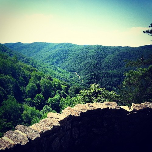 On top of the world in sweet Virginia. (Taken with instagram)