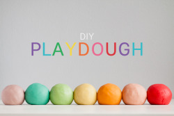 Am I the only one who remembers how much fun playdough was? I could sit at the table for hours making animals, houses, using cookie cutters… I'm sure if you made a fresh batch and had a few friends over, you'd all turn into 6 year olds again heheh :) Instructions can be found here: http://www.modernparentsmessykids.com/2012/05/play-dough.html#