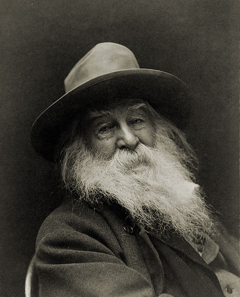discoverynews:  Happy Birthday, Walt Whitman!  Love the earth and sun and the animals,despise riches, give alms to everyone that asks,stand up for the stupid and crazy,devote your income and labor to others,hate tyrants, argue not concerning God,have patience and indulgence toward the people,take off your hat to nothing known or unknown,or to any man or number of men,go freely with powerful uneducated persons,and with the young, and with the mothers or families,re-examine all you have been told in school or church or in any book,and dismiss whatever insults your own soul;and your very flesh shall be a great poem….  ~ Walt Whitman ~  (from the Preface to Leaves of Grass, 1855 edition)