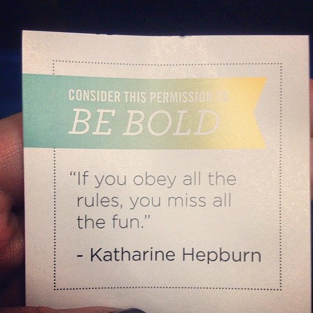 Just got my #julepmaven box, it had this little note inside. (Taken with instagram)