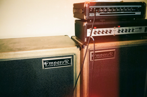 Jeff the Brotherhood Amps.