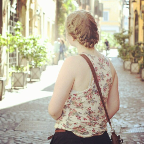 #plait #flowers #rome  (Taken with instagram)