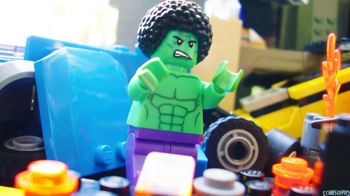 70's Hulk on Flickr.Via Flickr: Coming to bust yo chops.
