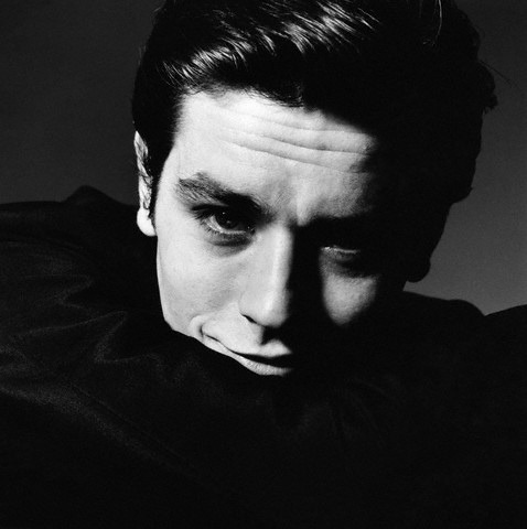 saloandseverine:  Alain Delon by Berts Stern