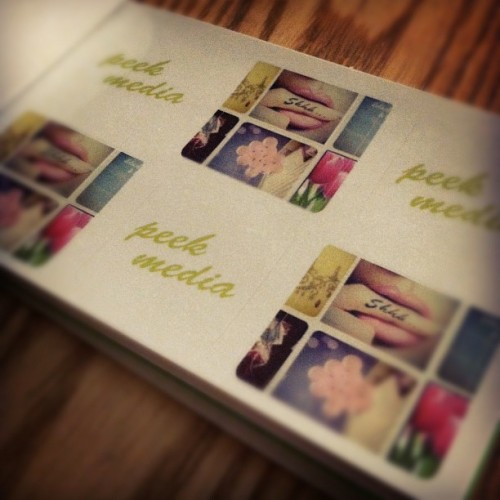 Peek Media Stickers. Do you LOVE them, or what?!
