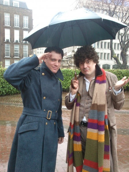 john barrowman an tom baker