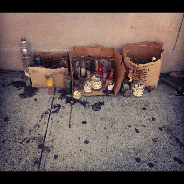 Pour out a little liquor… (Taken with Instagram at Harlem World)