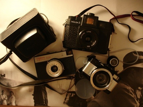 Someday my collection will expand like this one ;) Lomography ♥